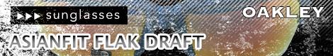 oakley asianfit flak draft